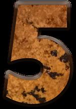 significado numero 5